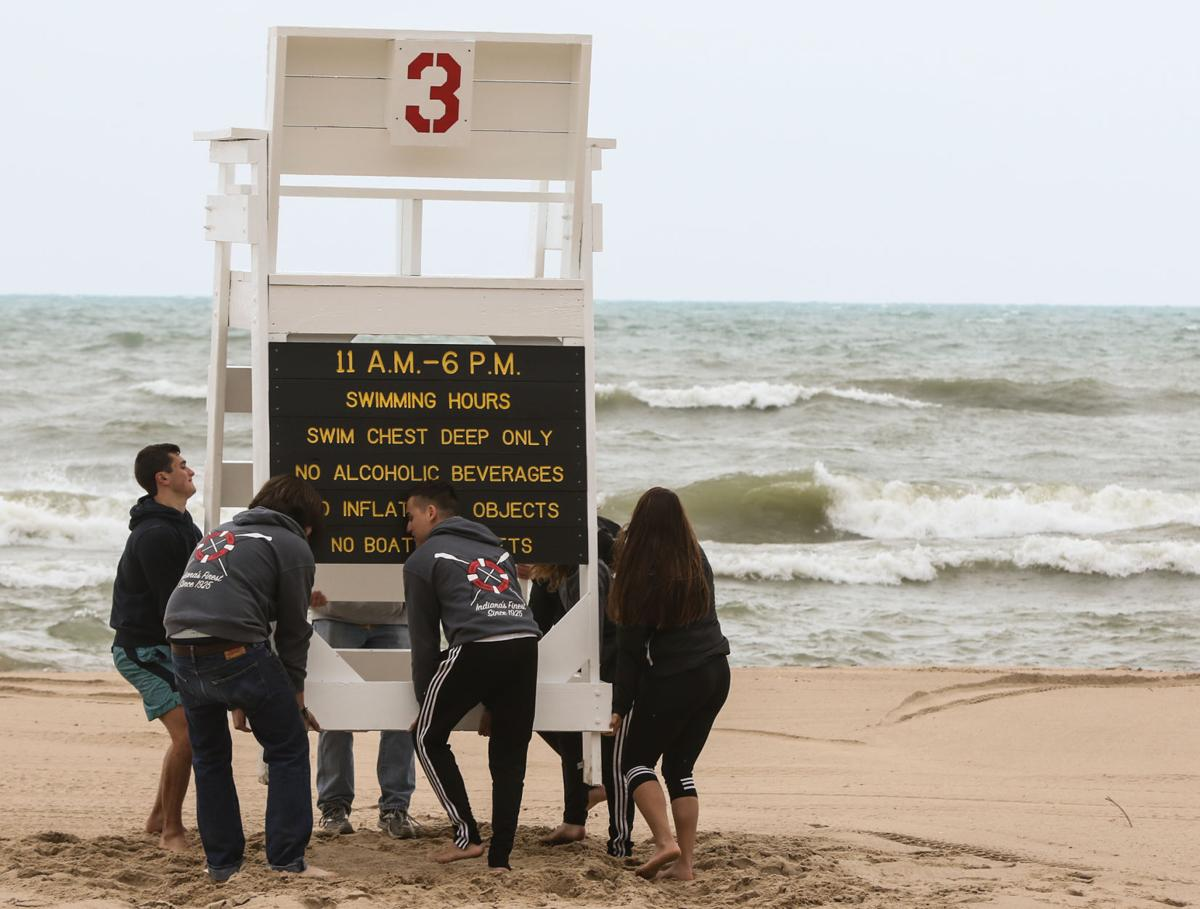 Few area beaches will be guarded this summer
