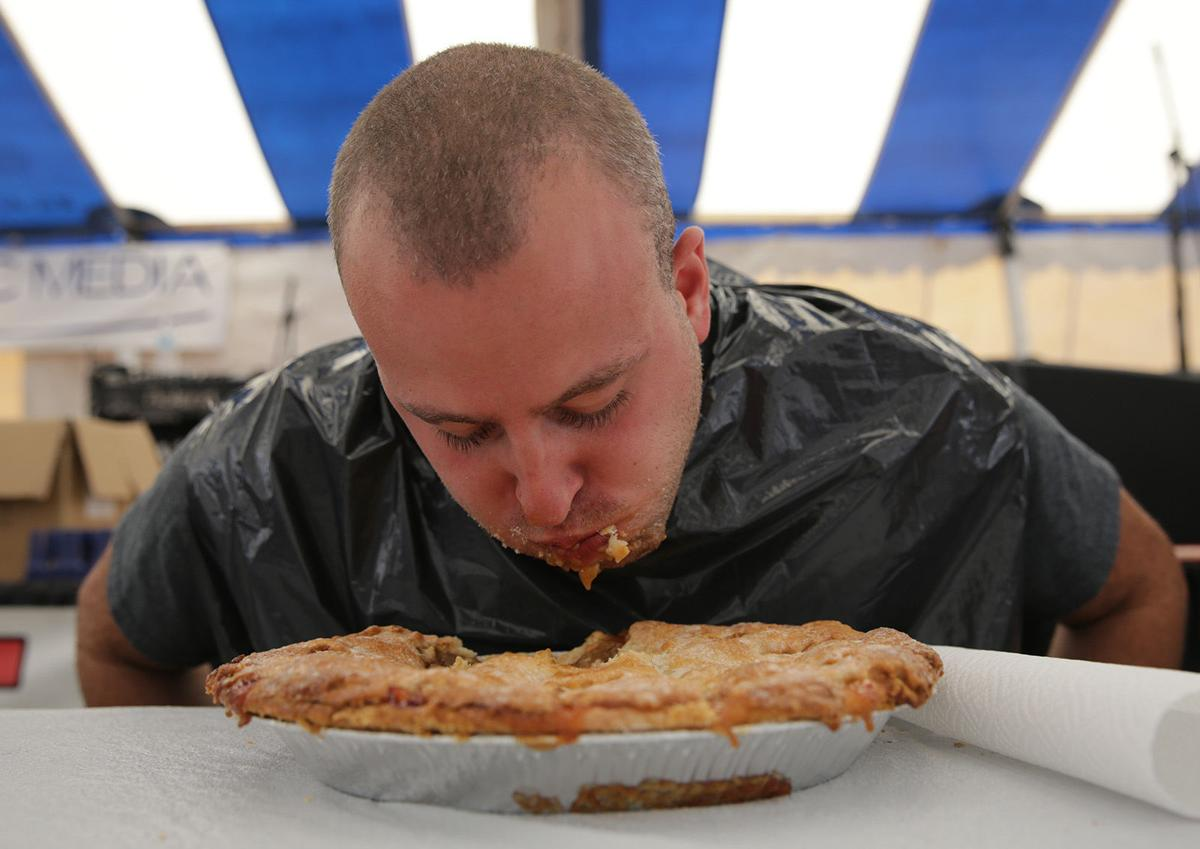 Gallery: Lake County Fair pie eating contest