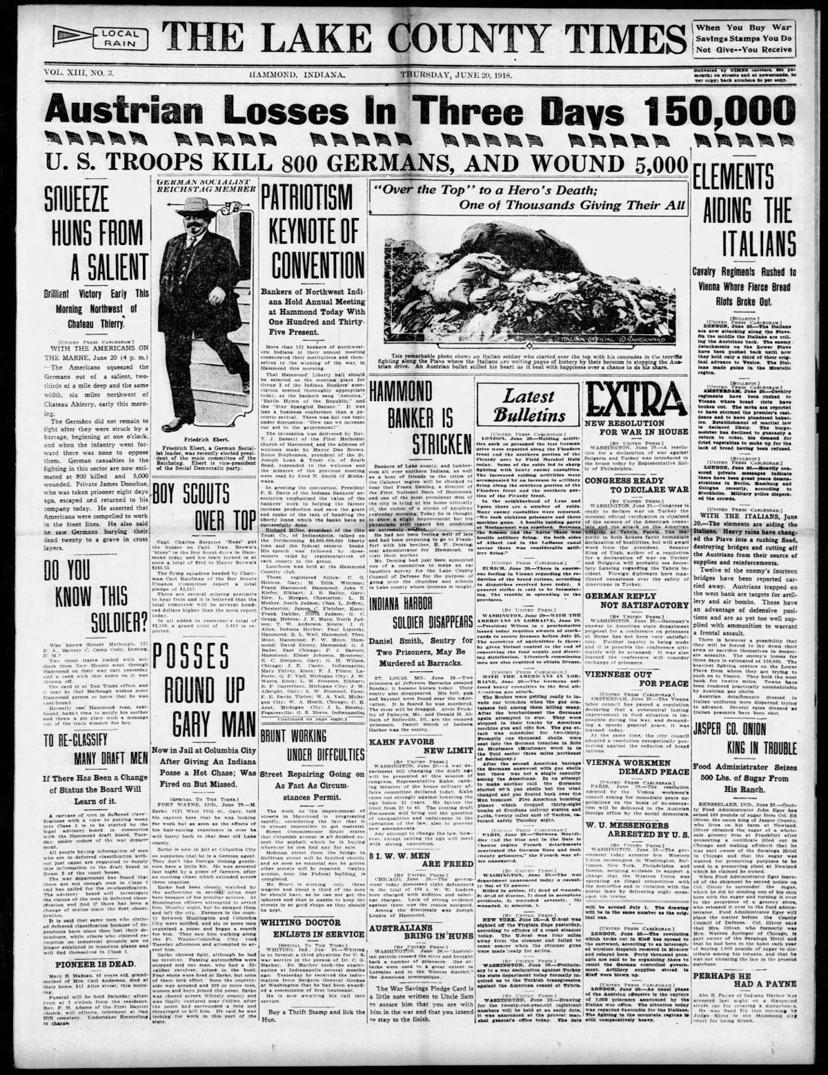 June 20, 1918: Jasper Co. Onion King In Trouble