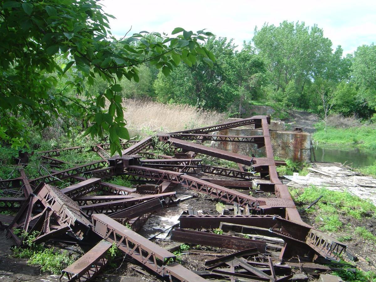 """IDEM officials tour """"stolen"""" bridge site"""