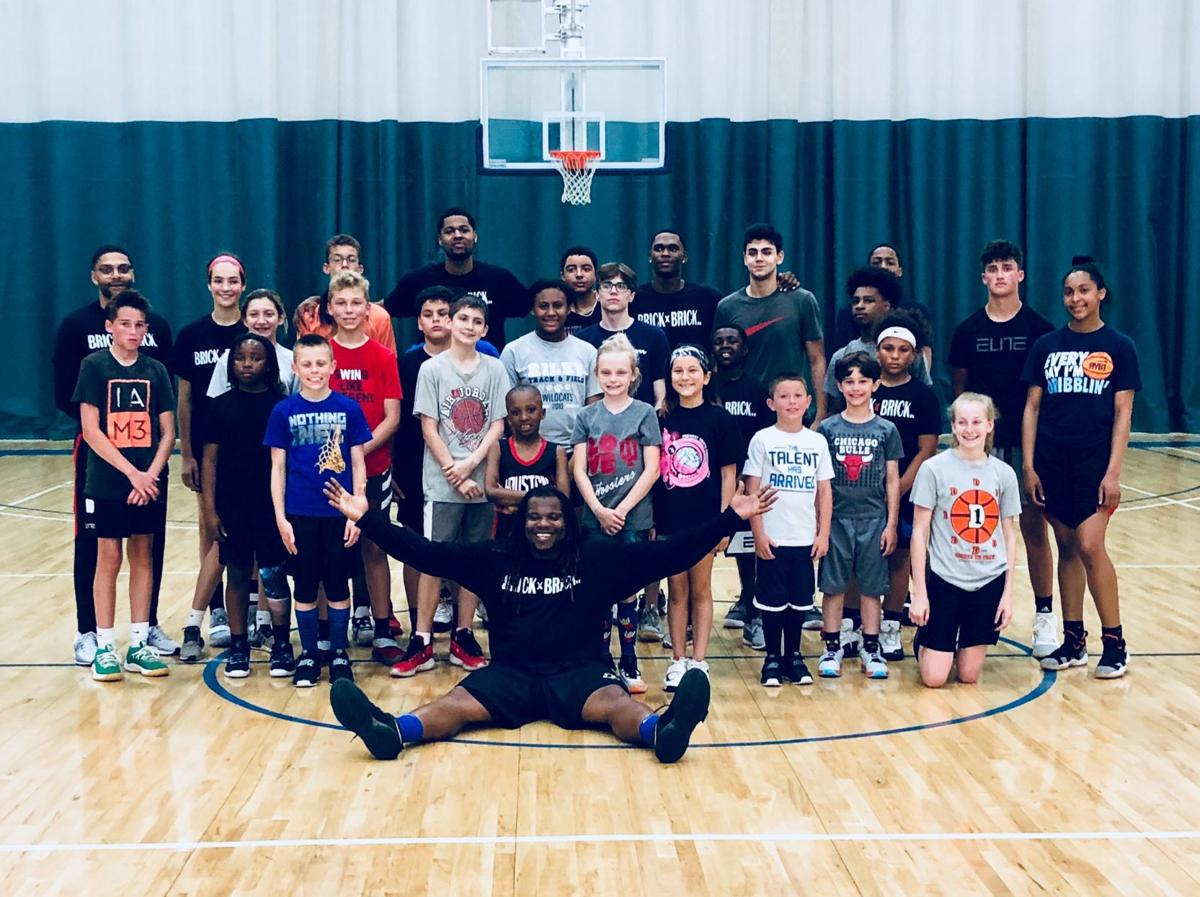 Brandon Newman basketball clinic