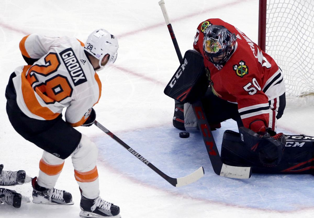 Flyers Blackhawks Hockey