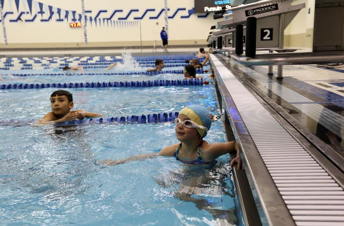 Lake central has the big water for swimmers of all ages - Pool school 123 ...
