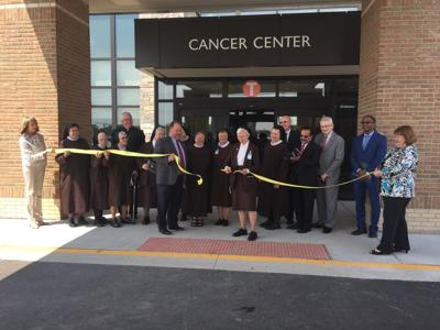 New Cancer Center Ribbon-cutting