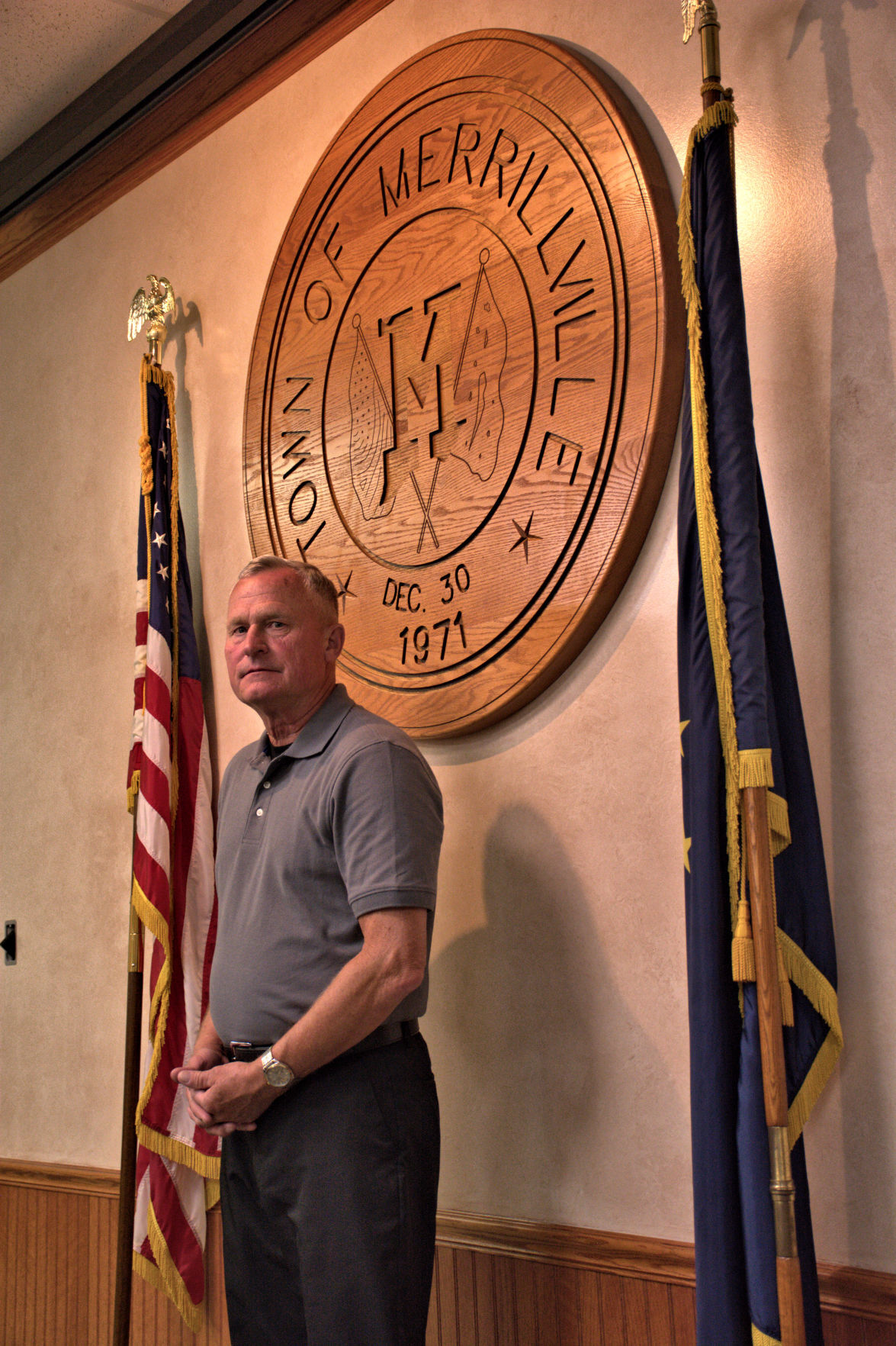 Retired M'ville chief honored by state, town