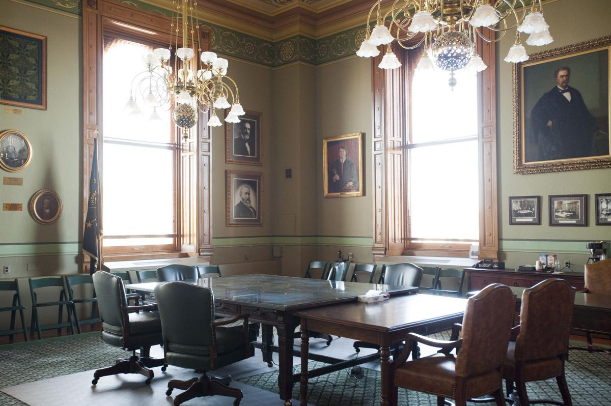 Indiana Supreme Court conference room