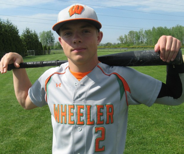 Wheeler Baseball Player Crussen Refuses To Let His Size Be