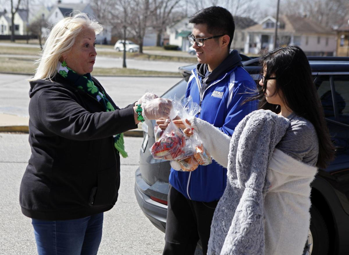 Meal Pickup for Hammond Schools