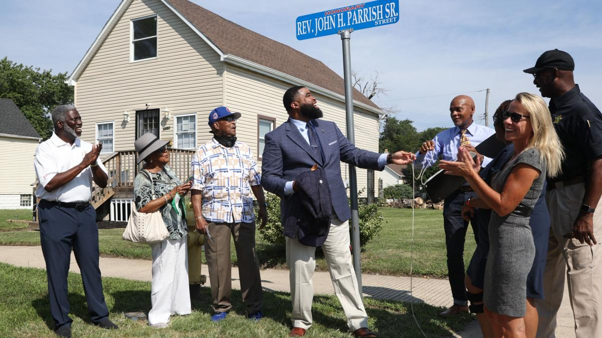 Street renamed in honor of first black councilman