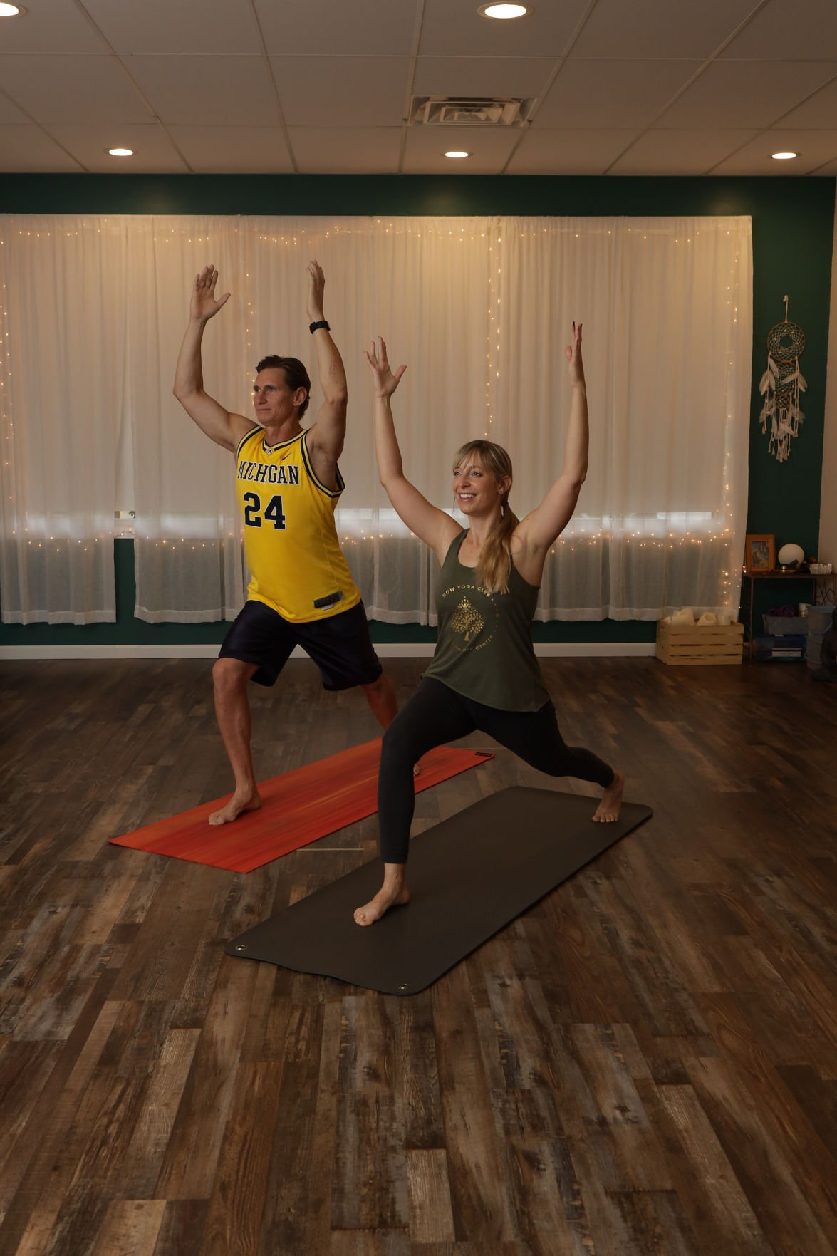 More men finding the agility, presence benefits of yoga