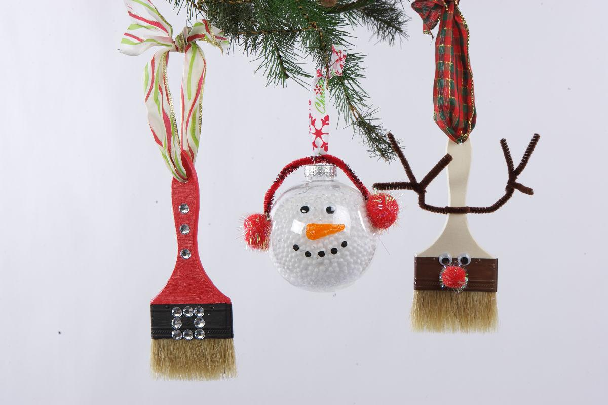 Easy, inexpensive, homemade ornaments that kids can make | Home and ...
