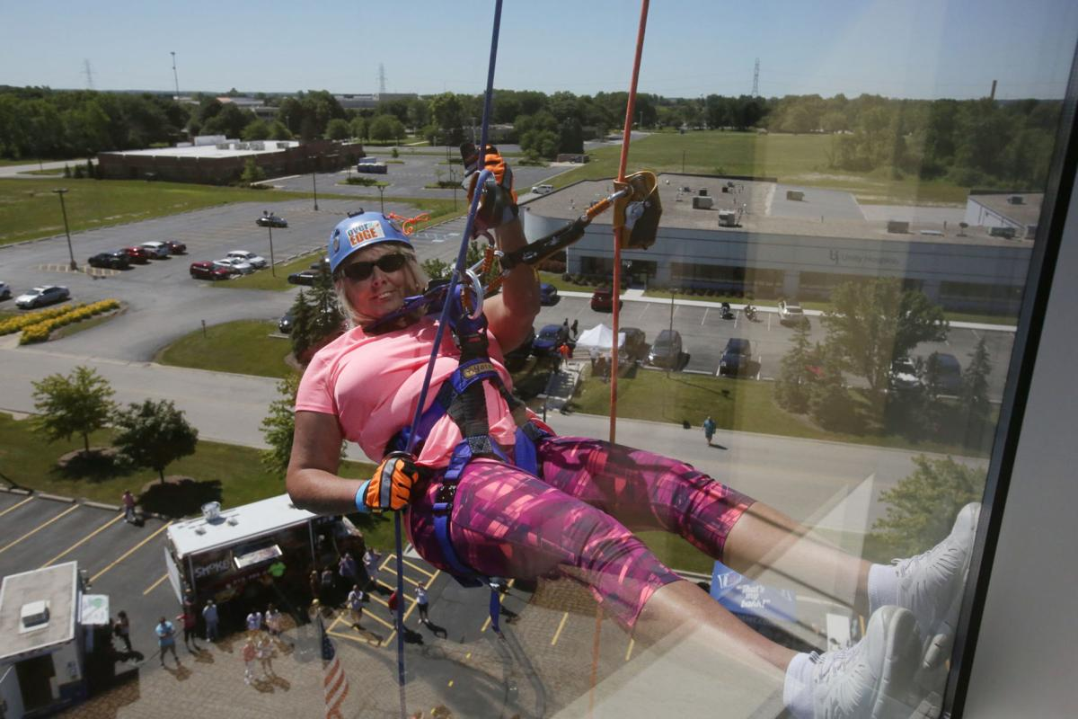 Lake Area United Way Rappelling