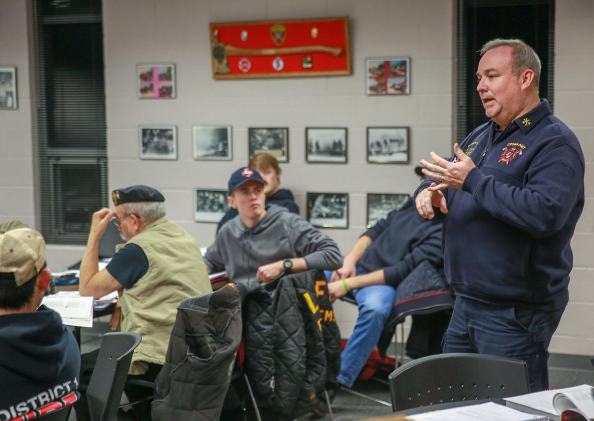 LOFS volunteer fire force marks 50 years, hopes to expand services