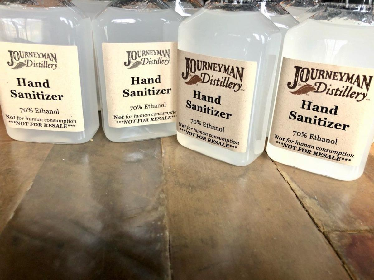 Journeyman Distillery Now Selling Hand Sanitizer By The Barrel