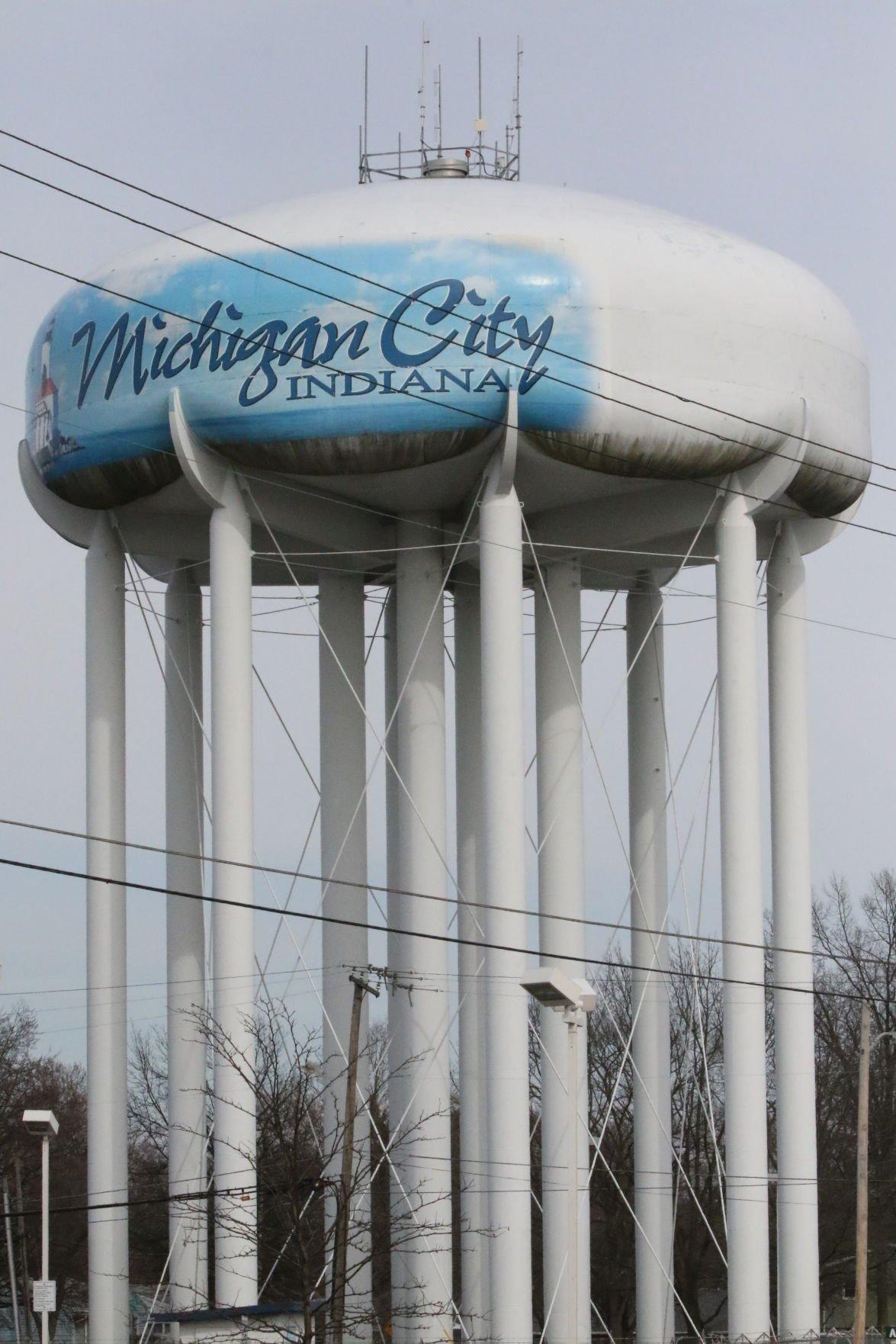 Michigan City Stock - Water Tower