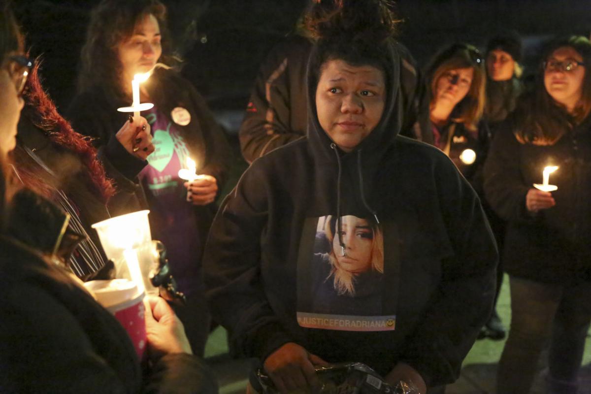 Vigil for Portage woman killed