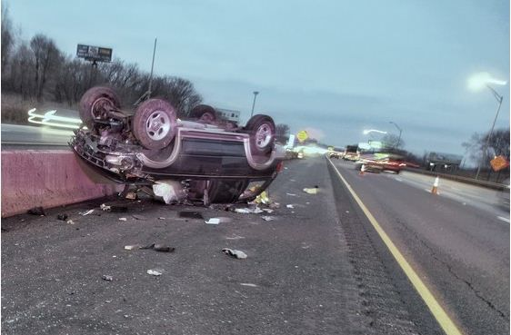 Update Chesterton Woman Injured In Hit And Run Rollover Crash On I