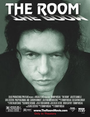 Cult classic The Room to screen in the Region