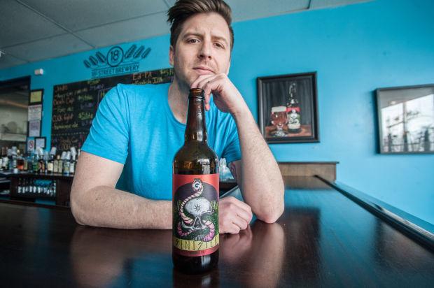 On the job: Joey Potts, creative director, 18th Street Brewery