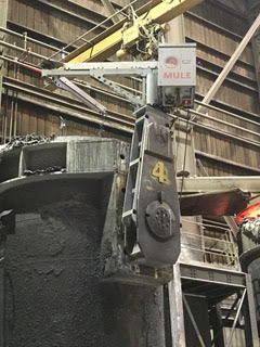 Lift-assist robots come to local steel industry