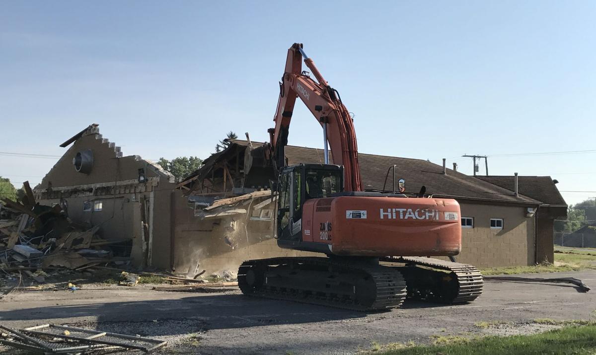 Porter County Animal Shelter demolition