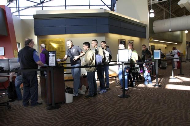 Gary/Chicago International Airport terminal