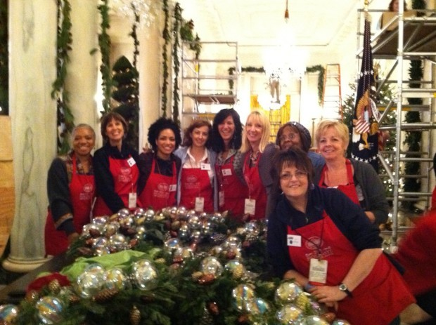 White House decorators