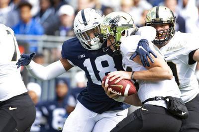 Dominant defense leads No. 12 Penn State past Purdue 35-7