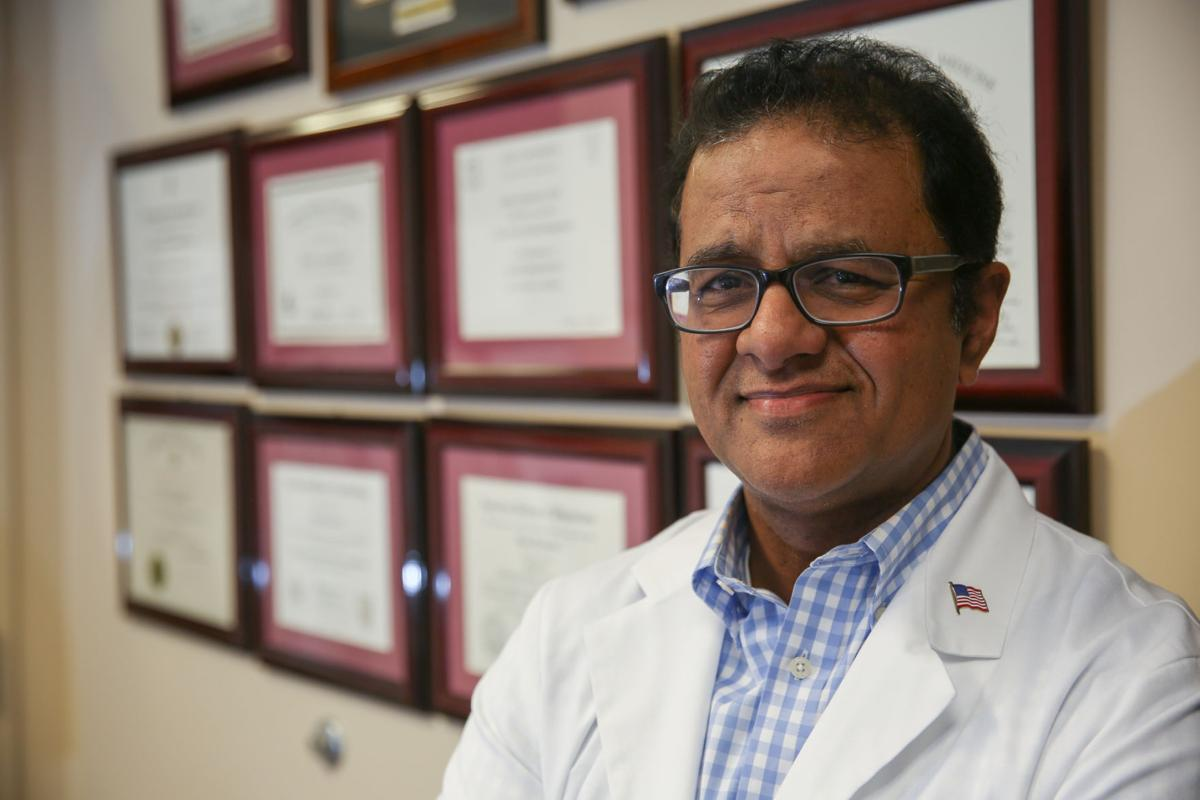 Dr. Shaun Kondamuri, of Midwest Interventional Spine Specialists, is organizing local pain doctors