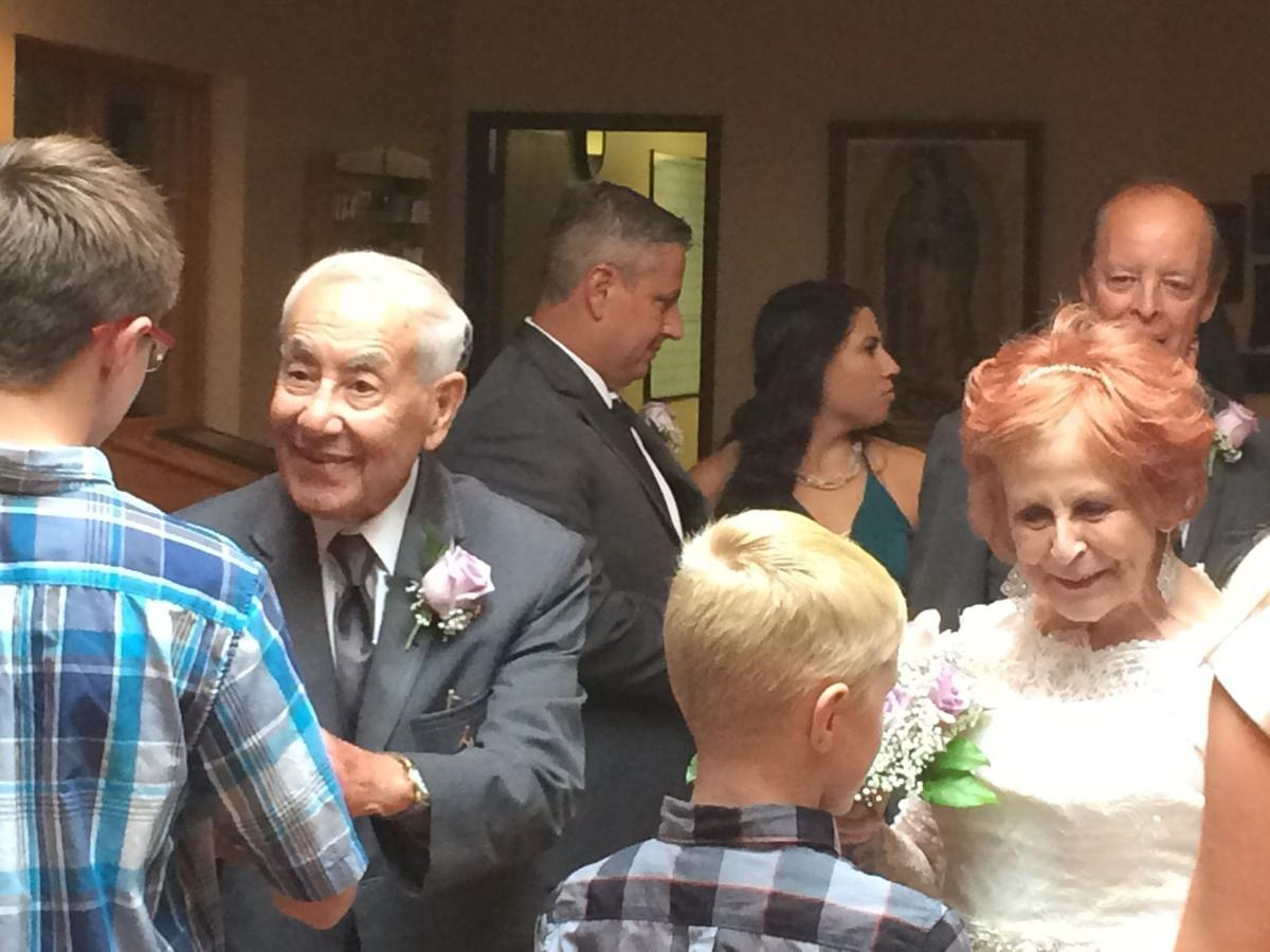 Hobart couple 97 and 75 tie the knot lake county news nwitimes com