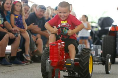 Pedal Pull at the Lake County Fair