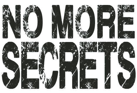 No More Secrets Logo