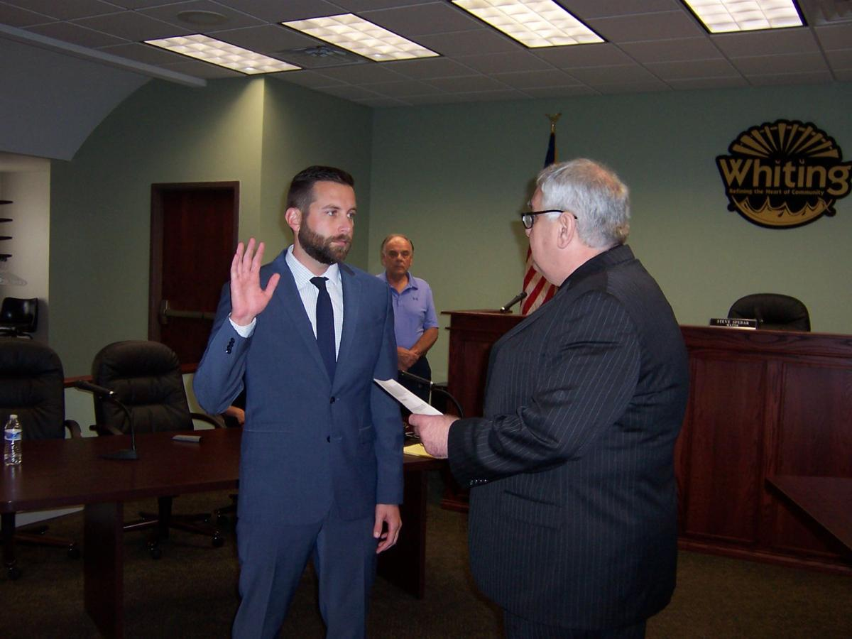 New councilman selected for Whiting's 1st District in caucus