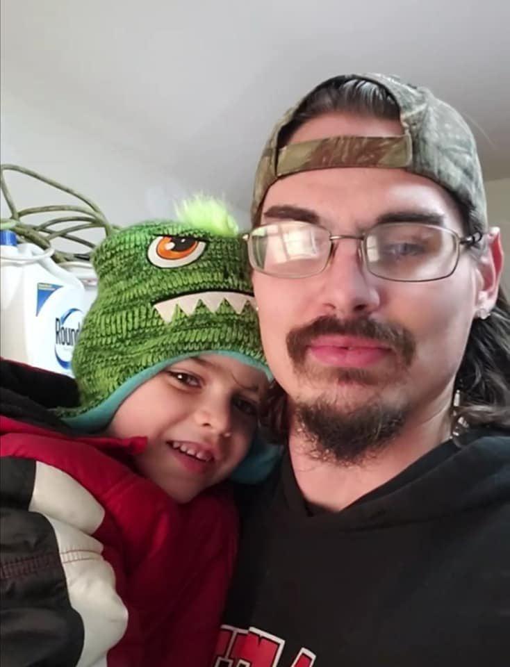 Daniel Holdcroft jr. and Dad
