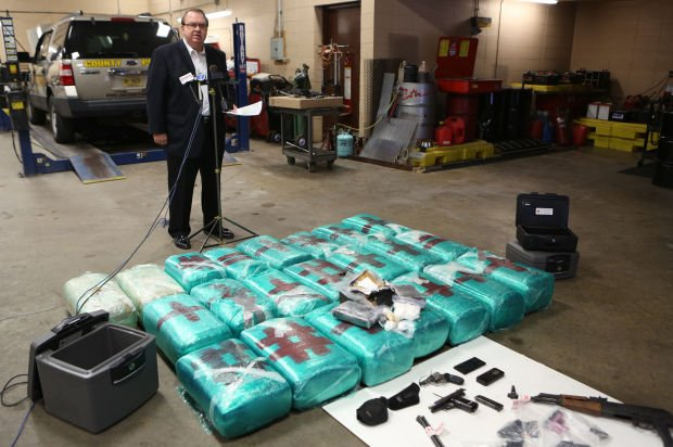 Sheriff: Arrests net some $1 5M in drugs plus high-powered