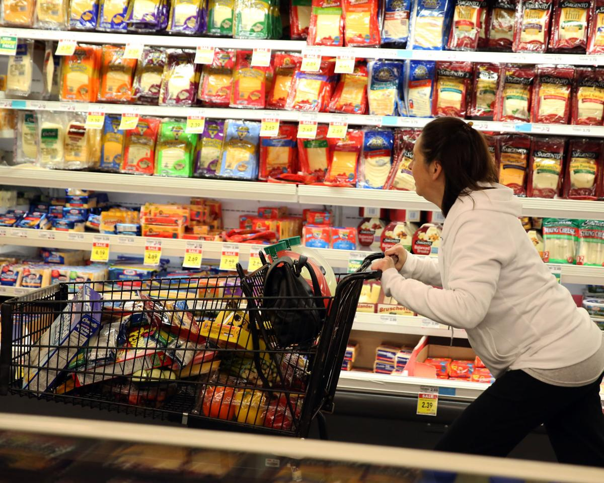 Woman wins two-minute shopping spree