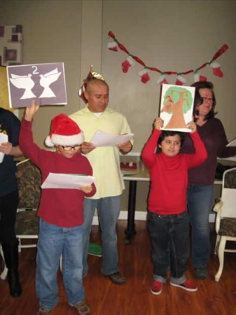 East Side Scouts sing for Dolton nursing home residents