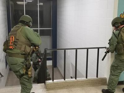 MCAS active shooter training