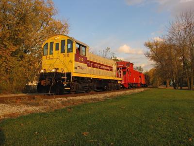 Halloween train trips planned
