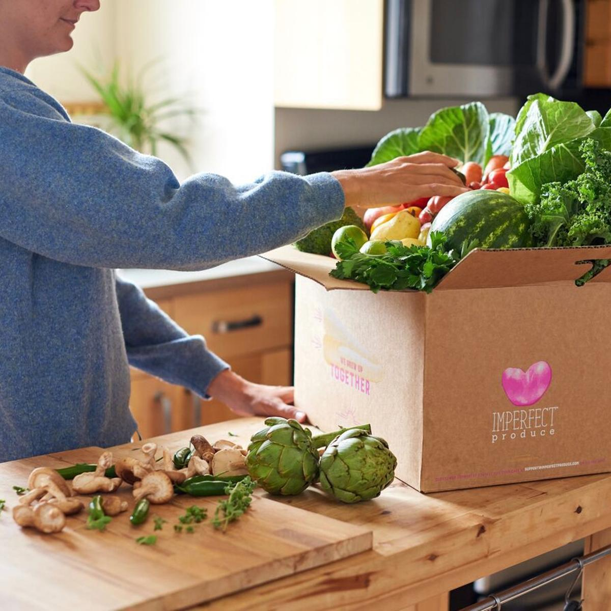 Imperfect Produce bringing vegetable delivery service to