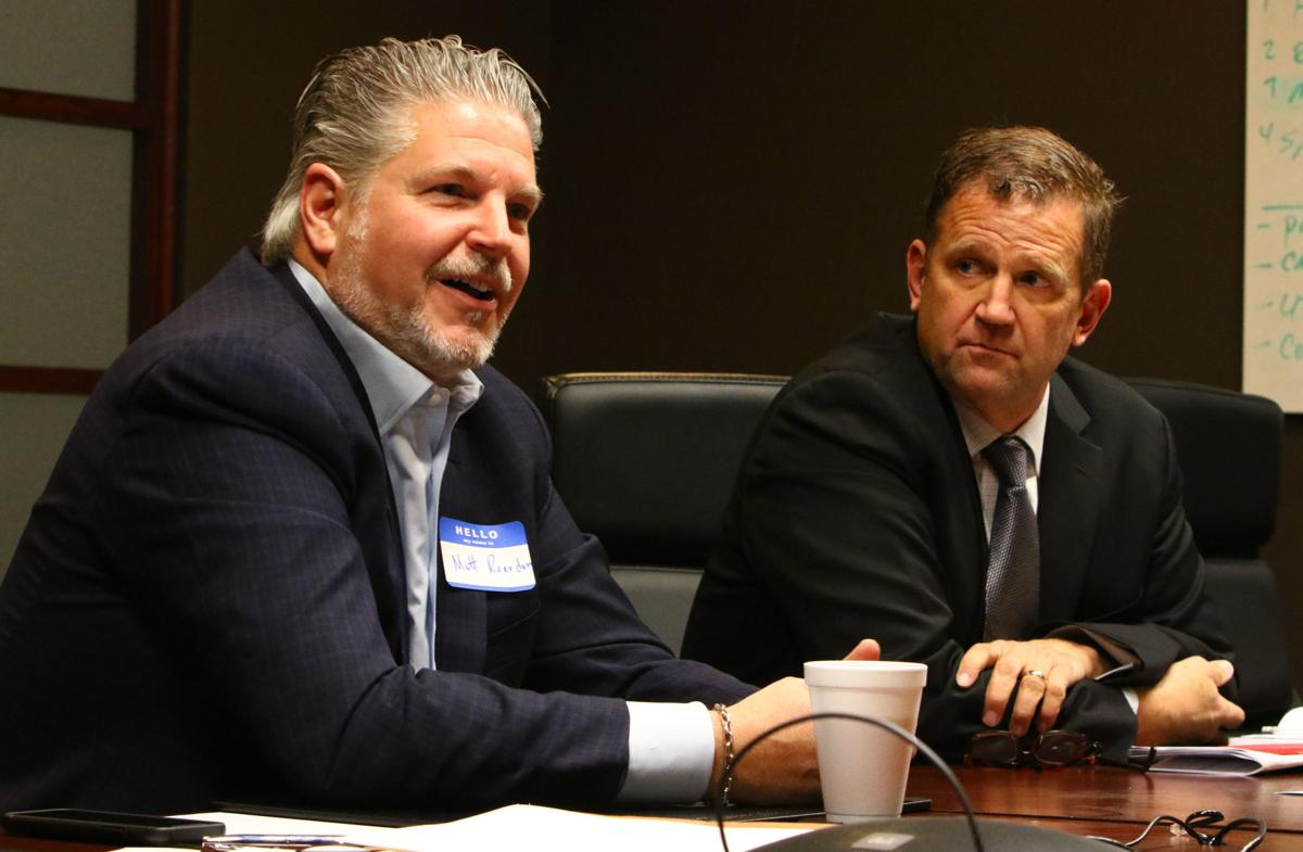 Principles for new data center meet with Times reporters and editors