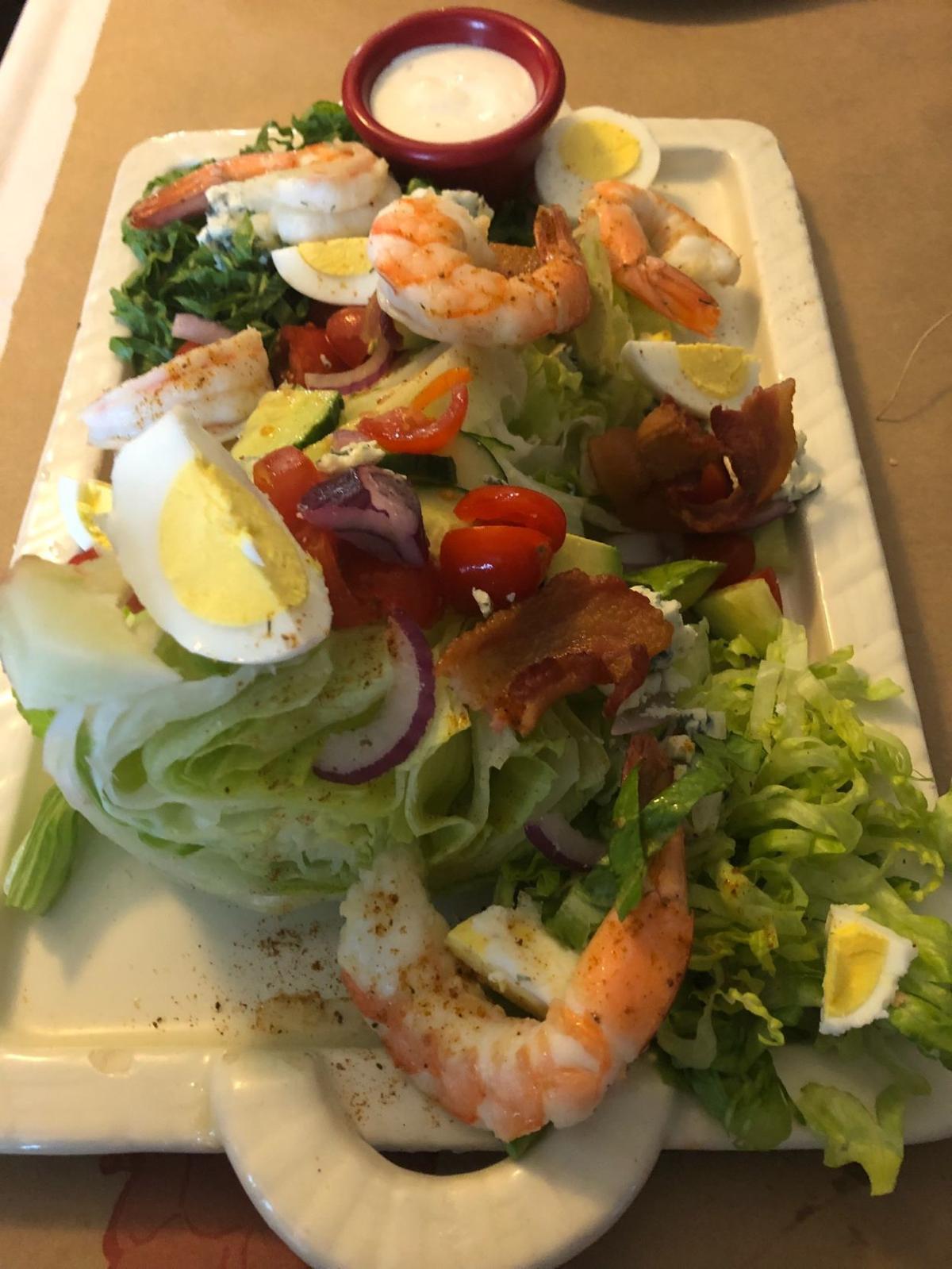 Shrimp Louie Wedge