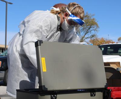 Lake County Health Department testing
