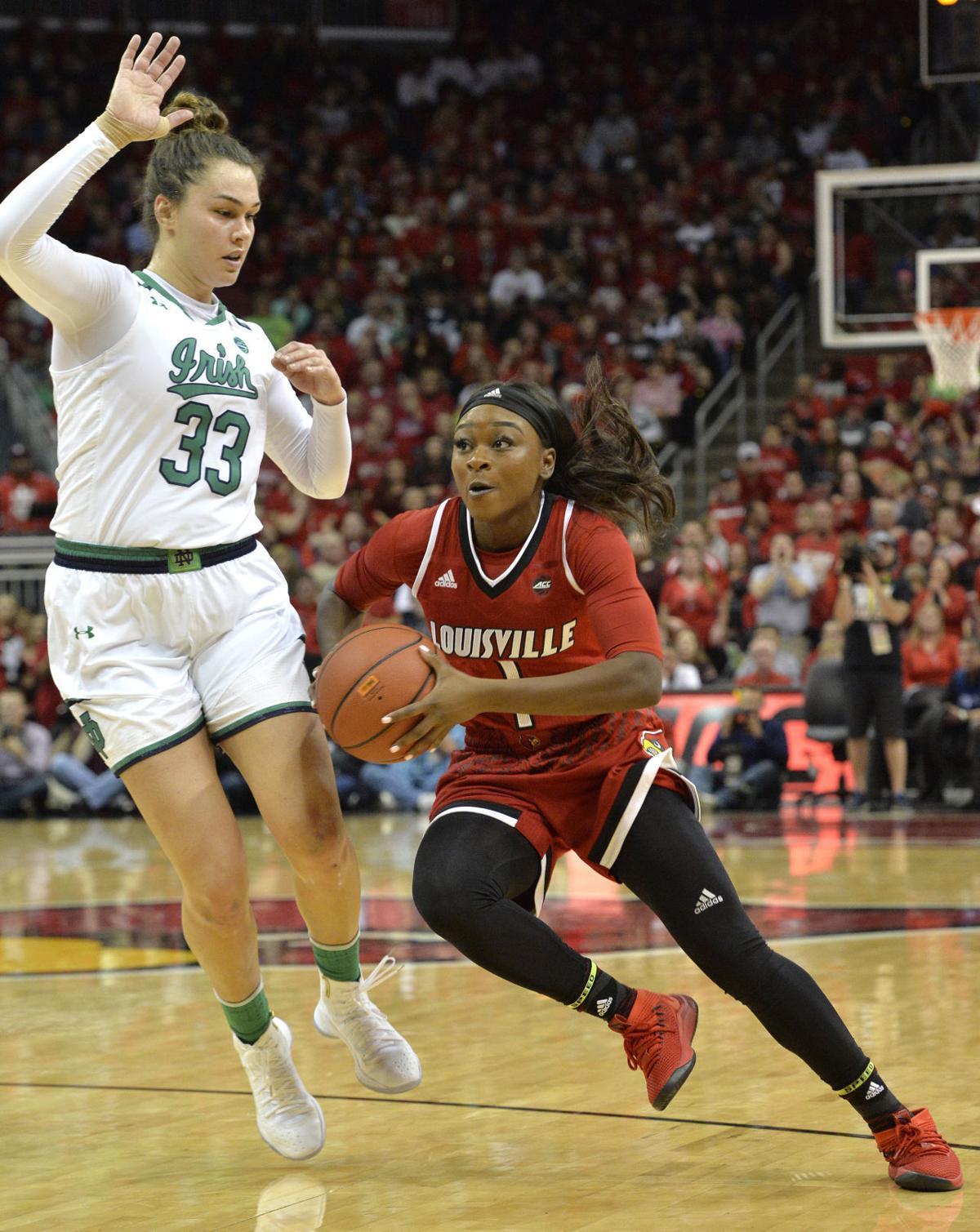Notre Dame Louisville Basketball