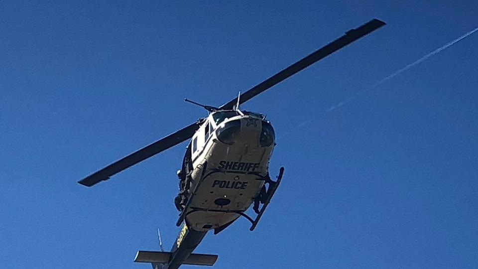Helicopter crew honored for helping catch fleeing suspects after Toll Road carjacking