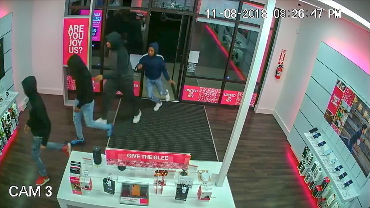 St. John police release video of 4 men linked to dozens of cellphone thefts, burglaries
