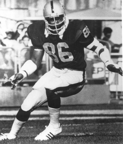 Gerald Irons, Raiders