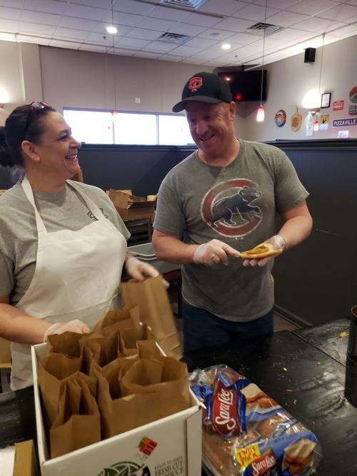 Gelsosomo's Pizzeria Crown Point giving away free sack lunches to stuck-at-home school kids