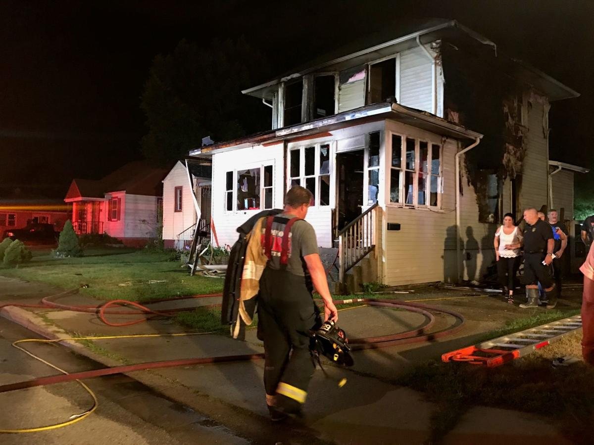 Hammond Fire Department battles blaze that sends 1 to the hospital; firefighters rescue 2 urns