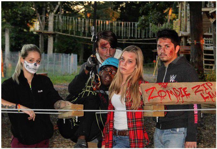 zombie thrills at edge